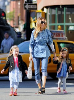Sarah Jessica Parker's family day out