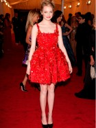 Emma Stone at the Met Ball 2012