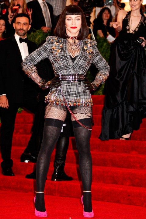 Madonna at the Met Ball 2013