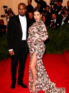 Kim Kardashian in Givenchy at the Met Ball 2013