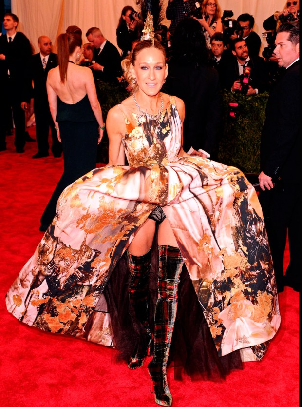 Sarah Jessica Parker at the Met Ball 2013