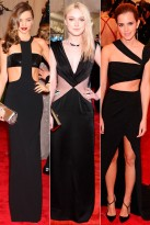 Peek-A-Boo - Top Trends at the Met Ball 2013