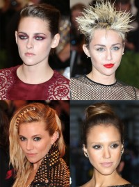 Met Ball 2013 Hair and Beauty Moments