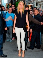 Gwyneth Paltrow dresses down for Apple store appearance