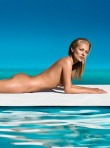 Kate Moss models for St Tropez