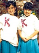 Kim and Kourtney Kardashian