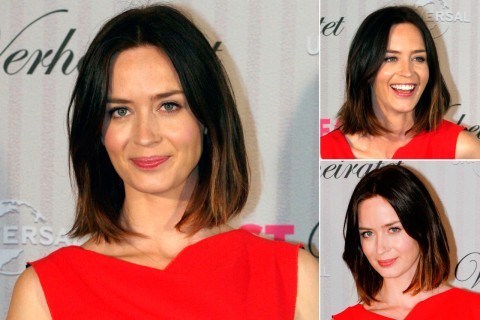 Emily Blunt - Bob Hairstyles