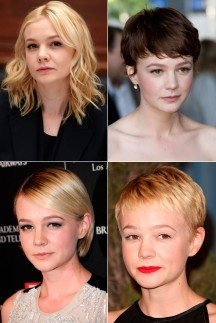 Carey Mulligan&#039;s hair history