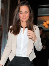 Pippa Middleton attends a Vanity Fair lunch