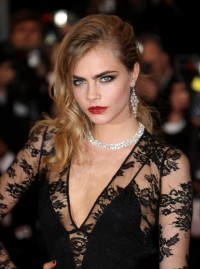 Cara Delevingne at the Cannes Festival 2013