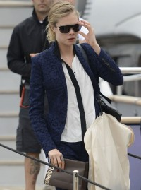 Cara Delevinge in Cannes