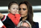 Victoria Beckham and Harper Beckham 
