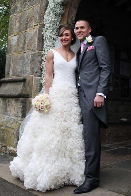 Jessica Ennis Wedding Cake