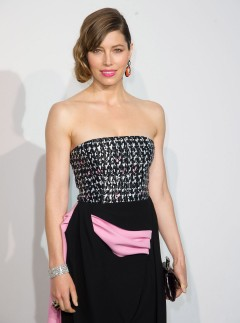 Jessica Biel at the Dior Cruise 2014 show in Monaco