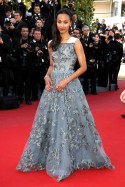 Zoe Saldana at the Cannes Film Festival 2013