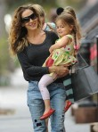 Sarah Jessica Parker children school run
