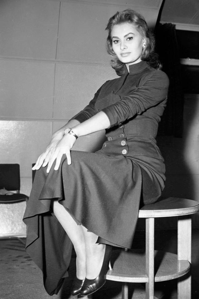 50 Year Old Sophia Loren