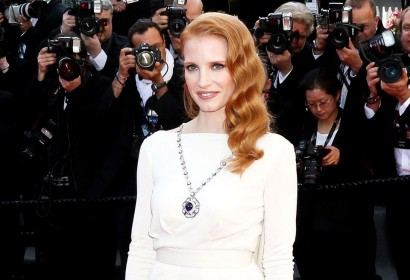 Jessica Chastain at the Cannes Festival 2013