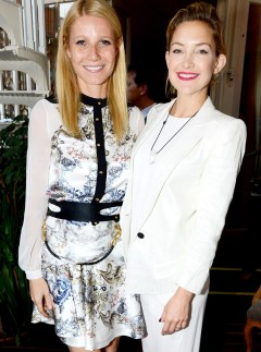 Gwyneth Paltrow at the Goop summer party in London