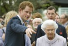 Prince Harry and The Queen Chelsea Flower Show