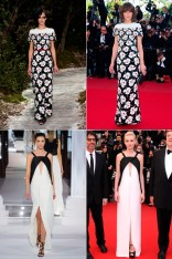 Cannes 2013 runway to red carpet
