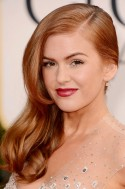 Isla Fisher with red hair