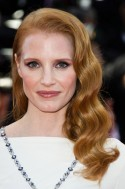 Jessica Chastain with red hair