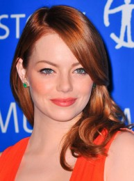 Emma Stone with red hair