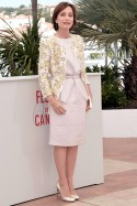 Kristin Scott Thomas at the Cannes Film Festival 2013