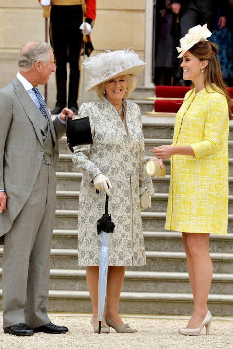 Kate Middleton at the Buckingham Palace Garden Party