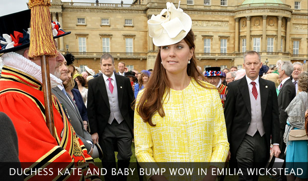 Kate Middleton Wows In Emilia Wickstead