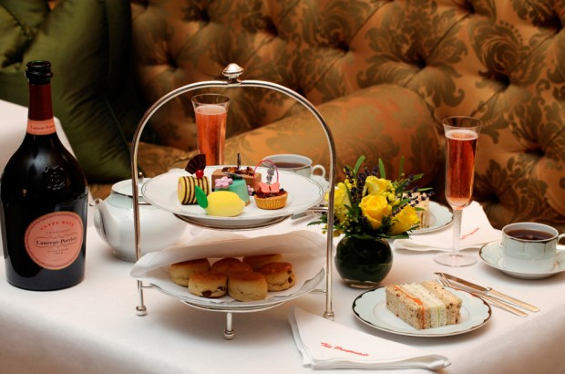 Laurent-Perrier afternoon tea