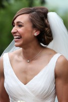 Jessica Ennis' wedding hair