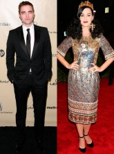 Robert Pattinson and Katy Perry on the red carpet