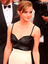 Emma Watson on the red carpet in Cannes