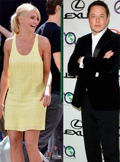 Cameron Diaz and Elon Musk - Cameron Diaz dating Elon Musk?
