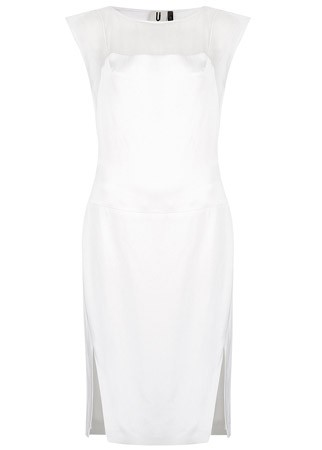 Topshop Unique sheer panel dress, £250