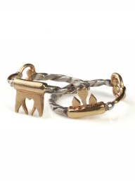 Jessica De Lotz Interlocking Key Friendship Ring Set LP