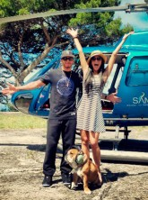 Nicole Scherzinger on holiday with Lewis Hamilton in Capri