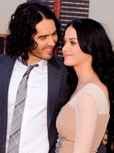 Russell Brand and Katy Perry on the red carpet