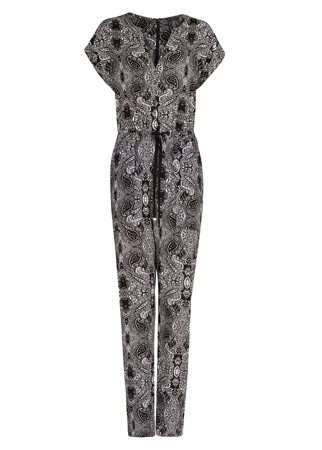 Mango printed jumpsuit, £39.99