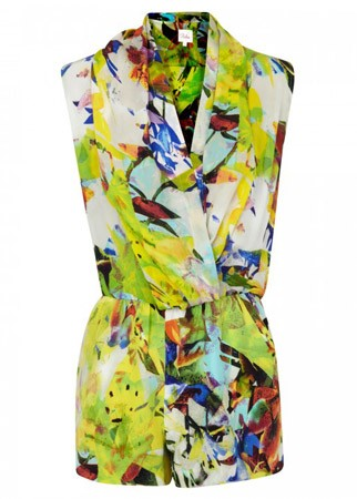 Parker printed playsuit, £210