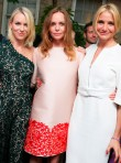 Naomi Watts, Stella McCartney and Cameron Diaz at Stella McCartney's Summer Party