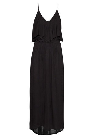 H&M frill detail maxi dress, £19.99