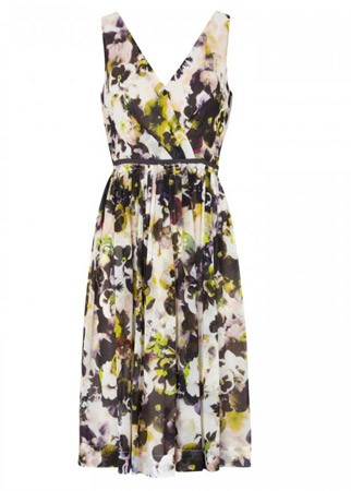 Paul Smith Black floral print dress, £190