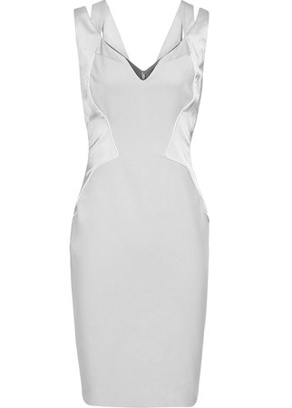 Reiss V-neck dress, £179