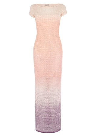 Warehouse pointelle maxi dress, £50