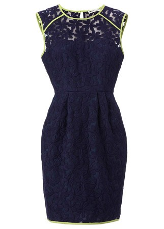 Whistles floral embroidered dress, £165