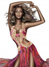 Roberto Cavalli shared this sketch of Beyonce online