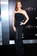 Amy Adams at the New York premiere of Man of Steel